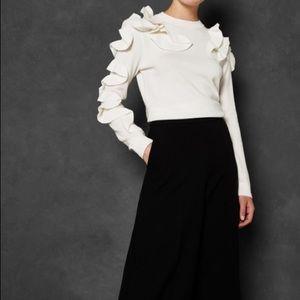 Ted Baker Sweaters - Ted Baker Ruffle Sweater